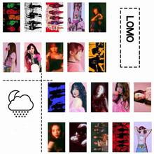 20Pcs/Pack Hot Sale Lomo Card HD Photocard Fans Gift Self Made Paper Red Velvet BADBOY Album K-POP Poster Photo Card Stationery(China)