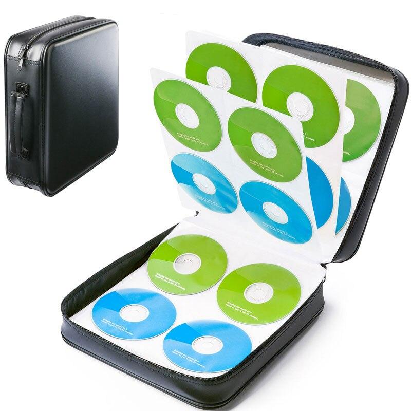 d771e2653906 Ymjywl новый дизайн 240 блюдо большой ёмкость CD случае CD/DVD диск коробка  для хранения
