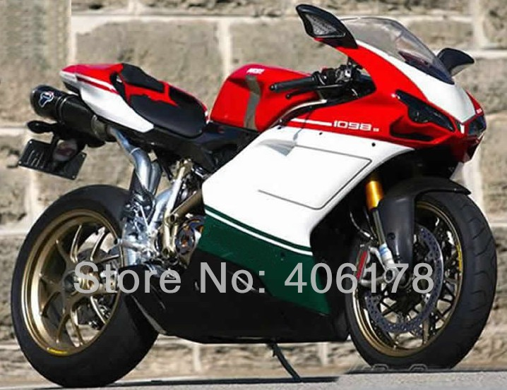 Hot Sales,Injection mold ABS Fairing Set For Ducati 1098 848 1198 2007-2011 Multi-Color Motorcycle Fairings (Injection molding) mouse component plastic injection mold cnc machining household appliance mold ome mold