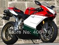 Hot Sales,Injection mold ABS Fairing Set For Ducati 1098 848 1198 2007-2011 Multi-Color Motorcycle Fairings (Injection molding)