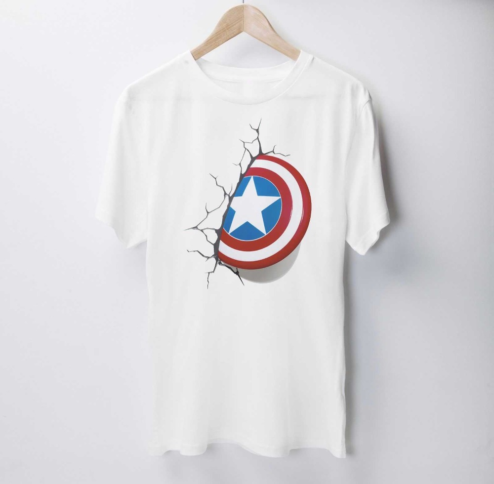 2019 New Fashion Men's T-Shirts Short Sleeve Hot Sale Print T Shirts Super America T Shirt Top best Tee Shirts image
