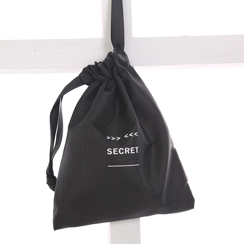 Waterproof Polyester Storage Package Bag Drawstring Bag Small Coin Purse Travel Women Small Cloth Bag Christmas Gift Pouch