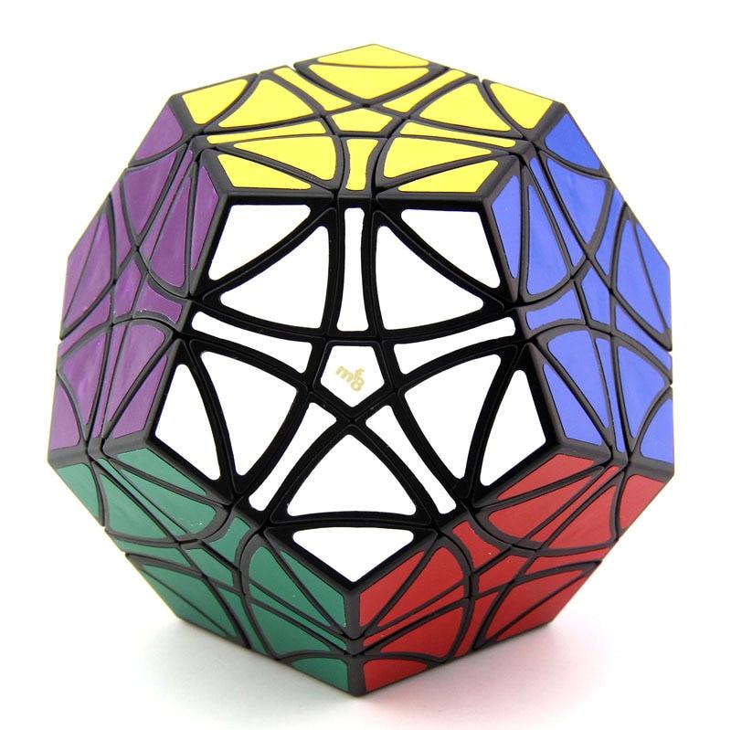 Puzzle Cube magique Mf8 Dodécaèdre Megamin Cube HelicopterMinx Collection Maître Doit Sagesse Niveau Éducatifs Logique Jouet