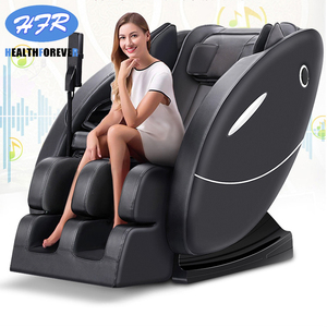 Image 3 - Korea India Japan Latest Fix SL Track Power Supply Price 3d Foot Shiatsu Cheap Electric 4d Zero Gravity Full Body Massage Chair