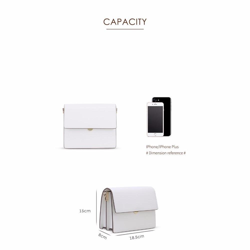 Package New Pattern Genuine Leather Single Shoulder Messenger Mini Small Square designer handbags tote vintage korean Style hot - 6