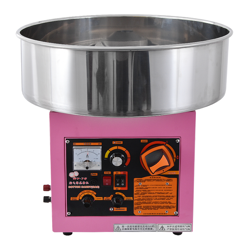 Electric /Gas (can choose one model ) Cotton Candy Machine Cotton Floss Machine Stainless steel Material WY-78