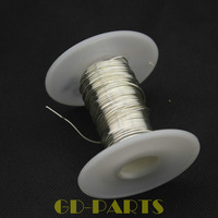 GD PARTS 1ft 26cm 1mm High Purity 99 98 Pure Silver Wire Bare Line For HIFI
