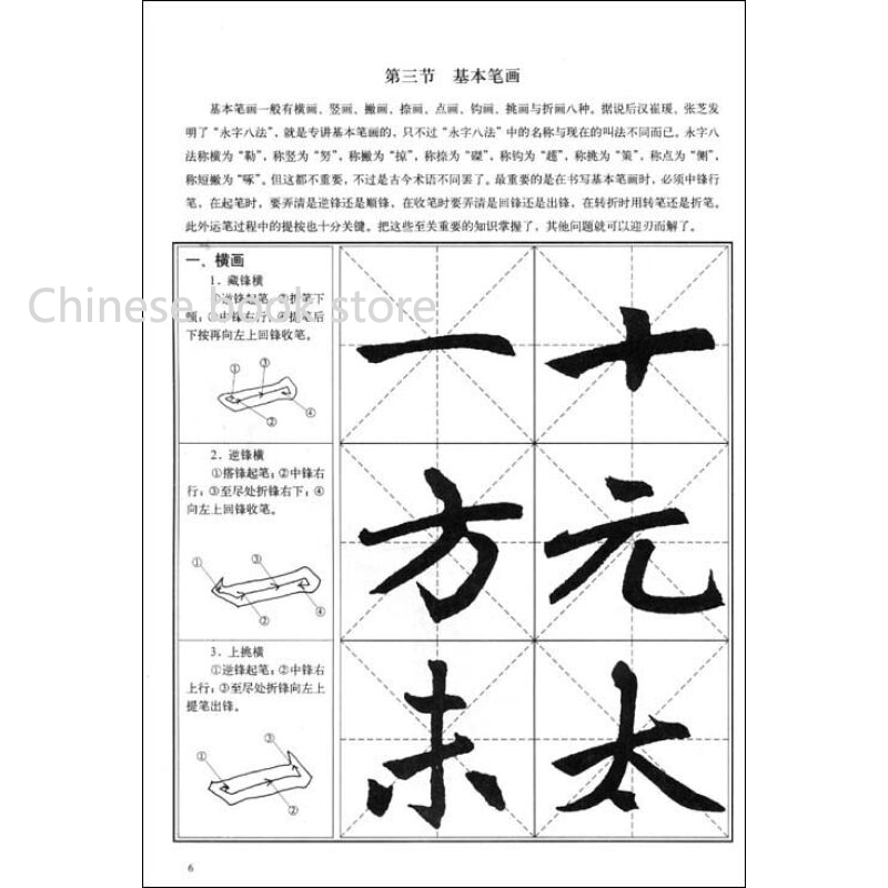 Chinese Calligraphy Tutorial Copybook Zhaomengfu Brush Regular Script Book For Beginners Traditional Hanzi In Books From Office