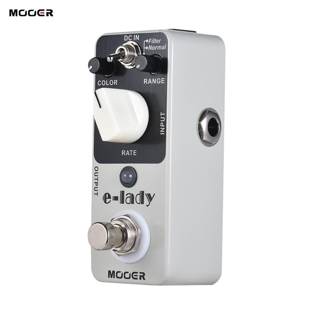 buy mooer guitar pedal e lady analog flanger guitar effect pedal 2 modes true. Black Bedroom Furniture Sets. Home Design Ideas