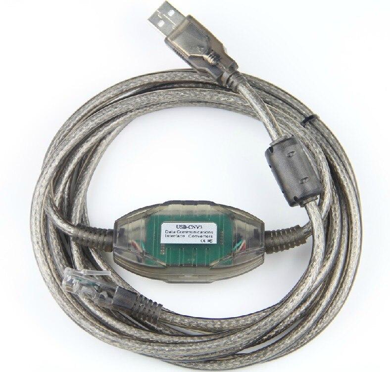 Cavo di programmazione usb-cnv3 importato ft232rl chip per la fuji nb/nj/ns plc, supporto WIN7