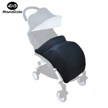Baby Pram Foot Cover Baby Yuyu/Yuya Stroller Accessories Infant Carriages Socks Cotton Pad Warm And Windproof Hood Winter