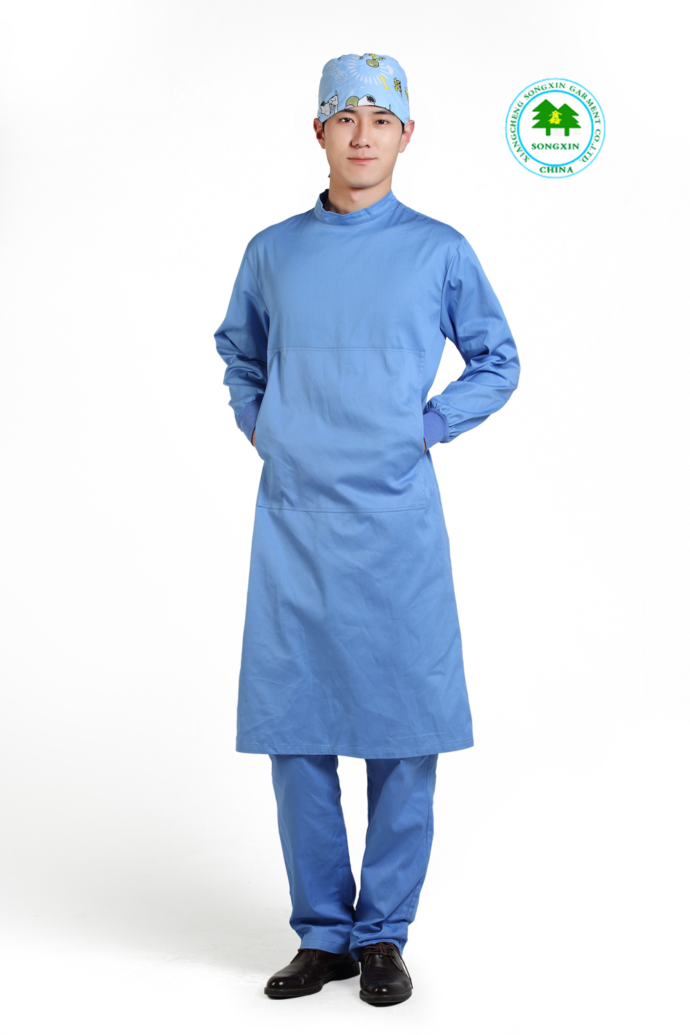 Free Shipping OEM surgical gown surgical kit long sleeve hospital ...