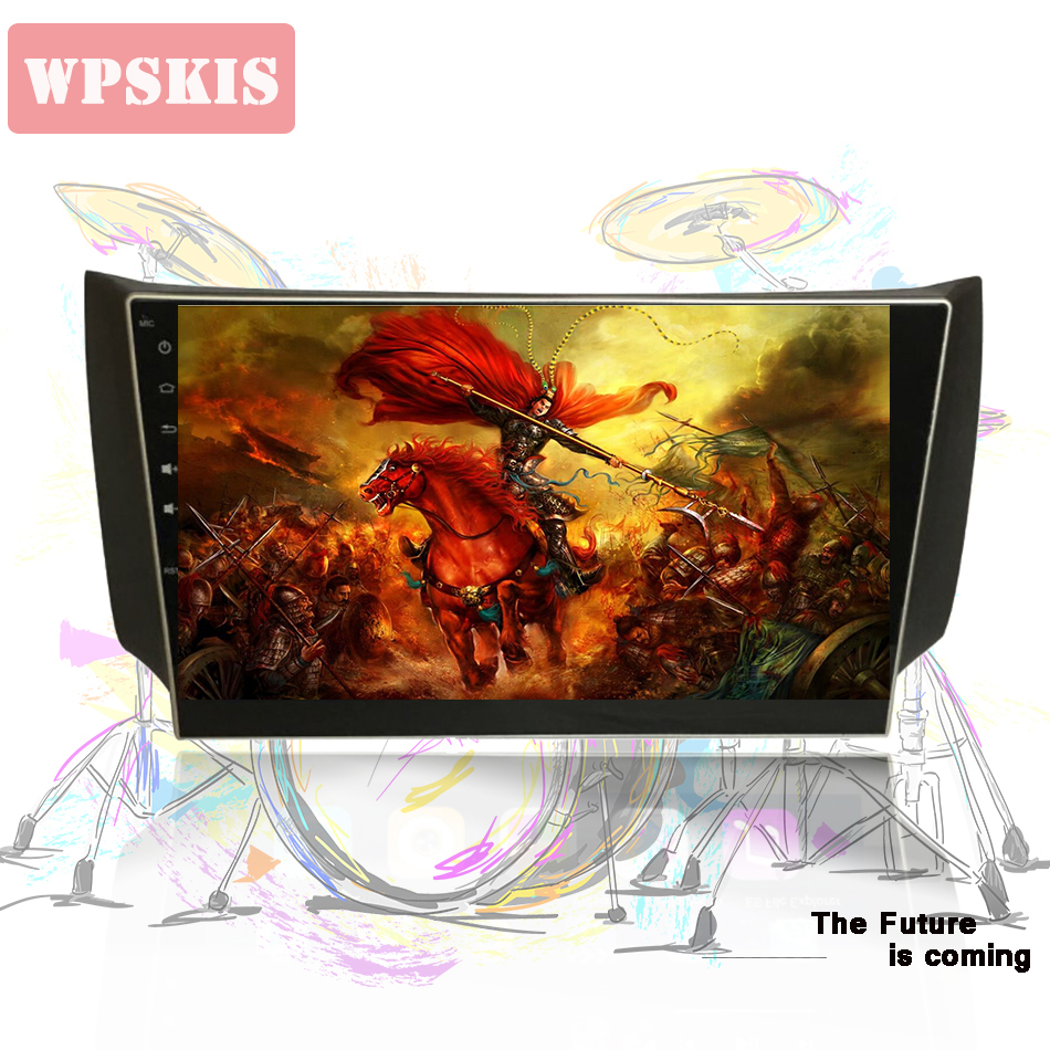 10 2 Inch Android 9 0 Car DVD Player GPS Navigation For NISSAN SYLPHY B17 Sentra