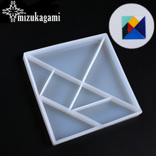 Resin Molds Jewelry Decorate-Making-Molds Geometric Liquid Silicone Intersperse DIY