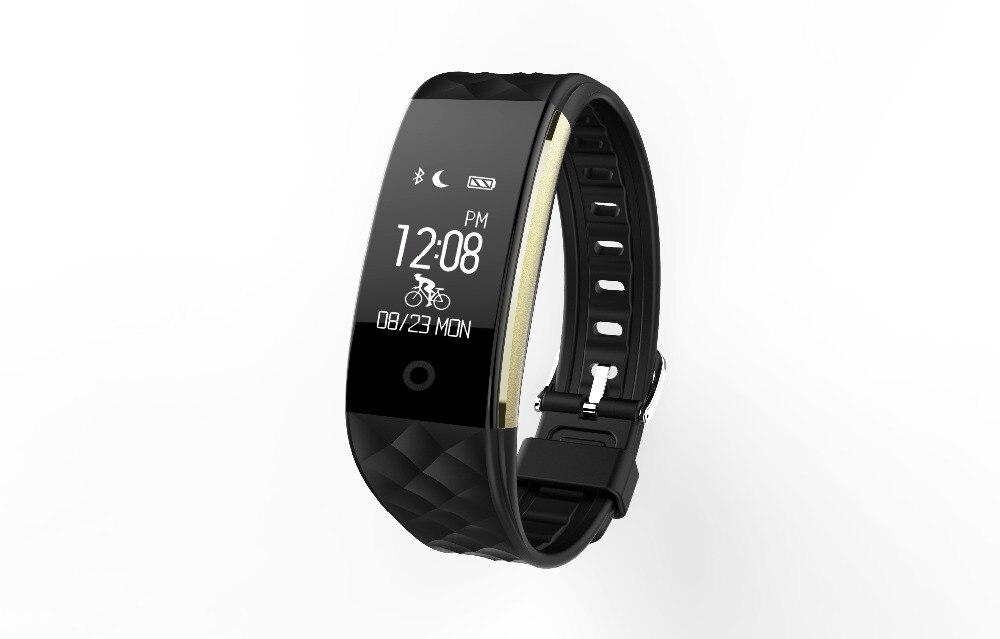 Smart bande S2 Bluetooth Smart Bande Bracelet Moniteur de Fréquence Cardiaque IP67 Étanche Bracelet pour Android IOS Téléphone