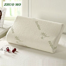 ZHUO MO Sleeping Bamboo Memory Foam Orthopedic Pillow Pillows Oreiller Pillow Travesseiro Almohada Cervical Kussens Poduszkap zhuo tour s92