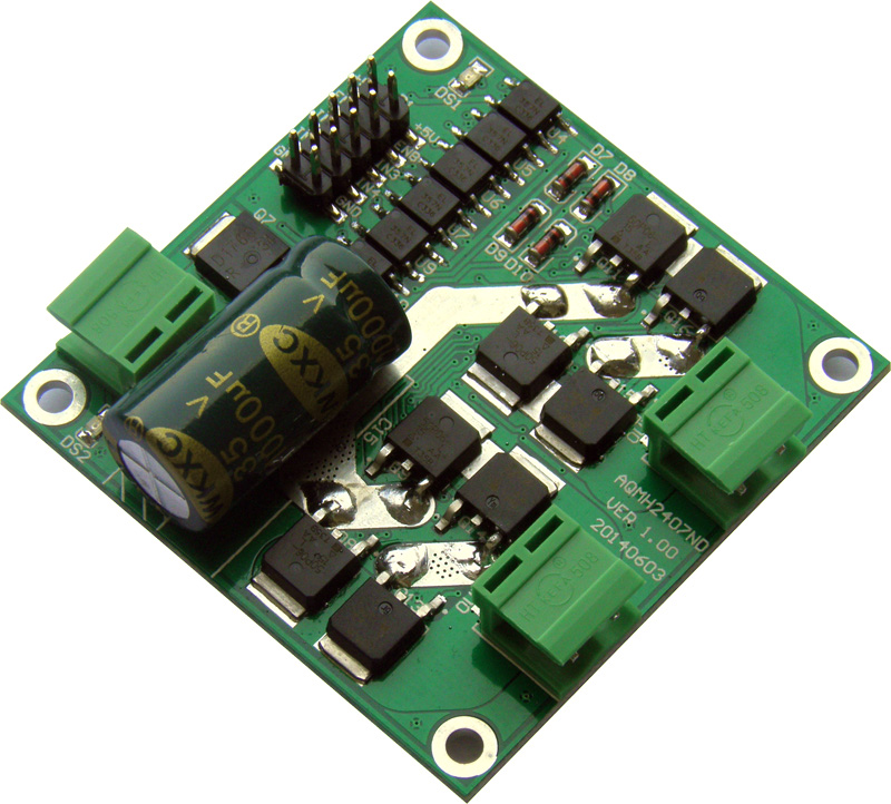 7A 160W 12/24V double circuit DC motor drive module / board H bridge L298 logic