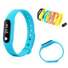 FLOVEME Für iPhone iOS Android Smartwatch Sport Pedometer Bluetooth Smart Uhr Armband Fitness Herzfrequenz Tragbare Armband