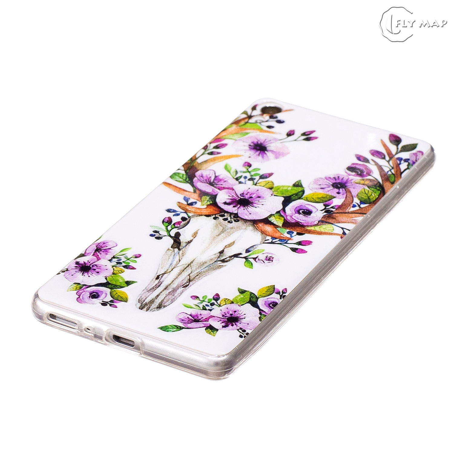 Luminous TPU Case for Huawei P10 VTR-L29 VTR-L09 VTR-AL00 Soft Silicone Floral Protect Cover for Huawei P 10 VTR L29 L09 Case