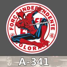 Bevle A-341 Spider-Man Wasserdicht Mode Kühle DIY Aufkleber Für Laptop Gepäck Skateboard Kühlschrank Auto Graffiti Cartoon Aufkleber