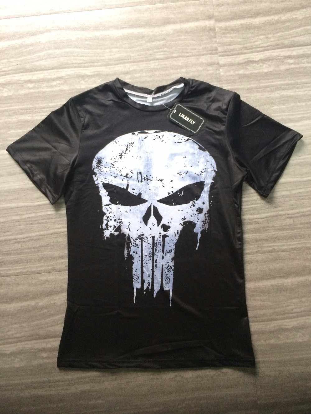 Punisher 3D Printed T-shirts Men Compression Shirts Long Sleeve Cosplay Costume crossfit fitness Clothing Tops Male Black Friday 22