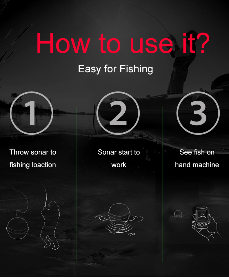 Cheap wireless fish finder