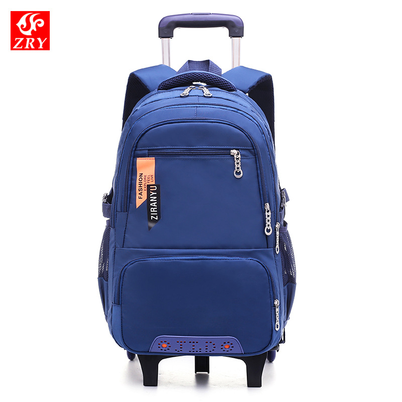 Removable Children Trolley School Bags with 2/3 Wheels for boys cartoon Backpack Kids Wheeled Bag Bookbag travel luggage Mochila вентилятор era центробежный канальный d 150 mars gdf 150