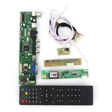 T. VST59.03 LCD/LED Denetleyici Sürücüsü Kurulu Için B154EW02 CLAA154WA05 (TV + HDMI + VGA + CVBS + USB) LVDS Yeniden Dizüstü 1280×800