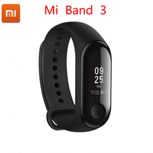 Unique Xiaomi Mi band Three 0.78 inch OLED Bluetooth 4.2 Display Message Show Caller ID Climate Sensible Sport Bracelet  Miband 3