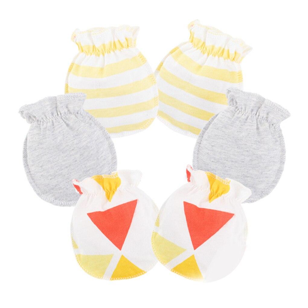 0-6 Months 3 Pairs Baby Mittens Winter Baby Handschuhe Winter Baby Gloves for Newborn