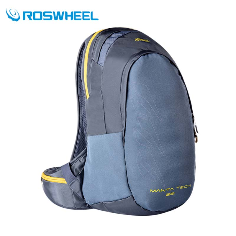 ROSWHEEL 20L Outdoor Sport Bag Ultralight Cycling Bicycle Backpack 2017 Travel Climbing Camping Hiking Rucksack With Rain Cover