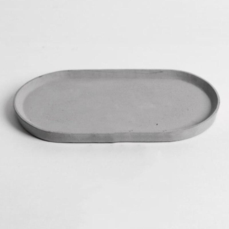 Zement schmuck tablett form beton gips handwerk tray home dekoration objekte tablett silikon form-in Lehm-Formen aus Heim und Garten bei AliExpress - 11.11_Doppel-11Tag der Singles 1