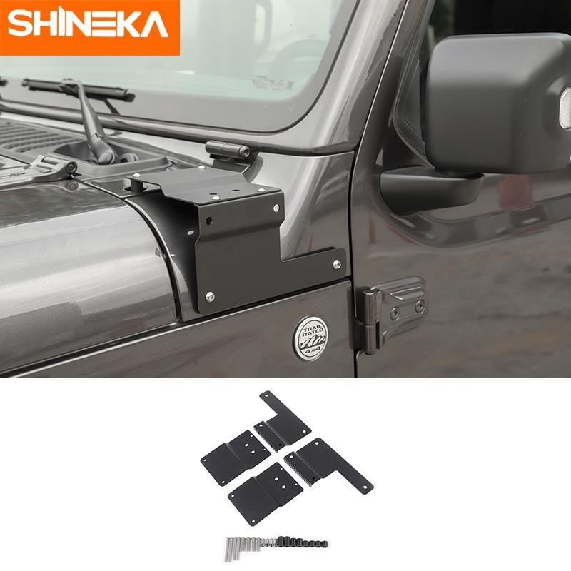 SHINEKA Lamp Frame Holder Accessoires for Jeep Wrangler JL