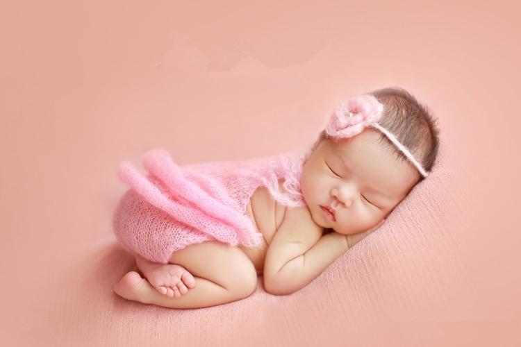 Pletene otroške obleke Baby Romper Hand Kombinezoni za novorojenčke Romper, ki ustrezajo pasu za novorojenčke Photo Rep