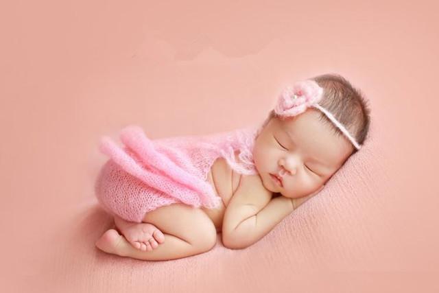 Mão de malha Roupas de Bebê Romper Do Bebê Macacão Bebê Recém-nascido Romper Correspondência hairband Newborn Fotografia Prop