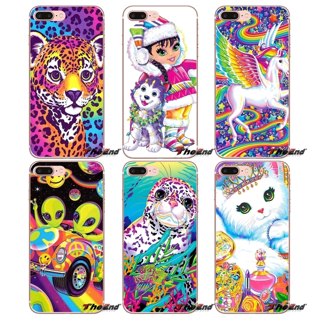 Colors Lisa Frank Tiger Horse Dog Cat Case For Xiaomi Redmi 4 3 3S Pro Mi3