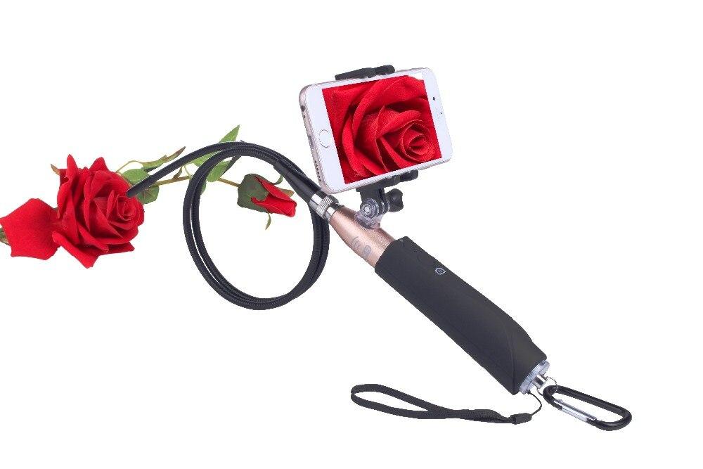 bilder für Handheld 1 mt Festrohr Wasserdicht Android Endoskop mit 7mm/8mm Objektiv 6LED USB Endoskop Kamera Schlange Rohr Endoskop