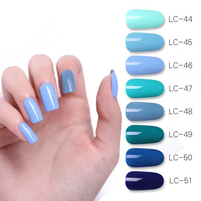 LILYCUTE DeepSkyBlue UV Nail Gel