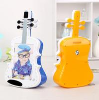 Creative Cello Frame Piggy Bank Cans Baby Baby 5 Inch Photo Plastic Frame Decoration Ornaments