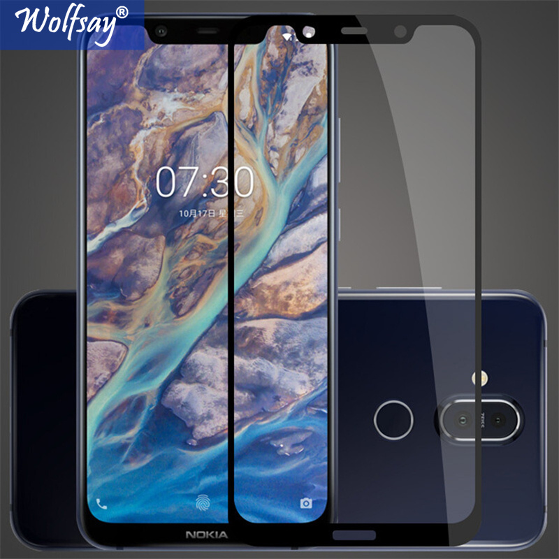 Tempered Glass For Nokia 8.1 Glass Nokia 8.1 Screen Protector 6.18