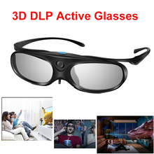 Elikliv Active Shutter 3D Glasses DLP Link clip on compatible for Optoma BenQ Sharp Acer Samsung projector 3D viewing experience