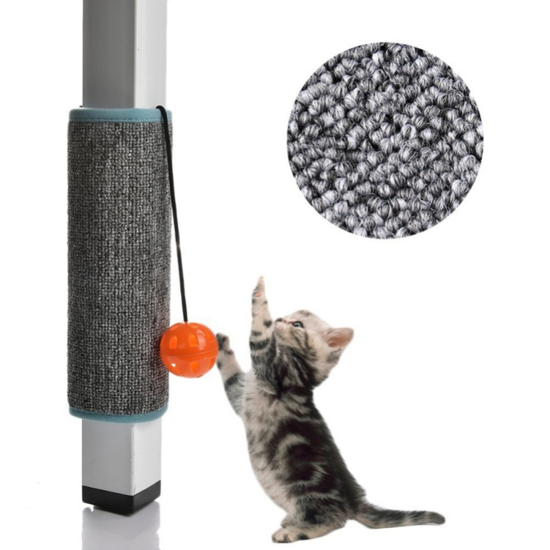 New Scratching Board Mat Pad Cat Sisal Loop Carpet Scratcher Indoor Home Furniture Table Chair Sofa Legs Protector Pet Toy