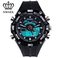 Man Dual Display Outdoor Mountain 50m Waterproof Electronic Watch LED Fashion Teenage Present Men Gift Multi-function 1352