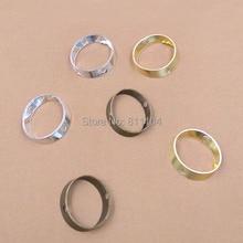 12 мм многоцветные покрытые латунные металлические в виде заготовки круглой кольцевой соединитель соединители для самодельных ювелирных изделий