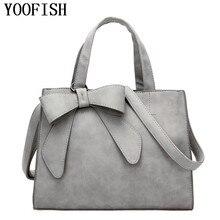 YOOFISH   NEW HOT SALE handbag women casual tote bag female large shoulder messenger bags high quality PU leather handbag все цены
