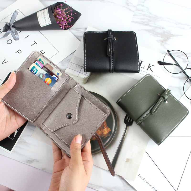 Leather Wallet Women Purse Female Clutch Small Short Mini Ladies Wallets and Coin Purses Credit Card Holder PU High Quality 2018 new small designer slim women wallet thin zipper ladies pu leather coin purses female purse mini clutch cheap womens wallets