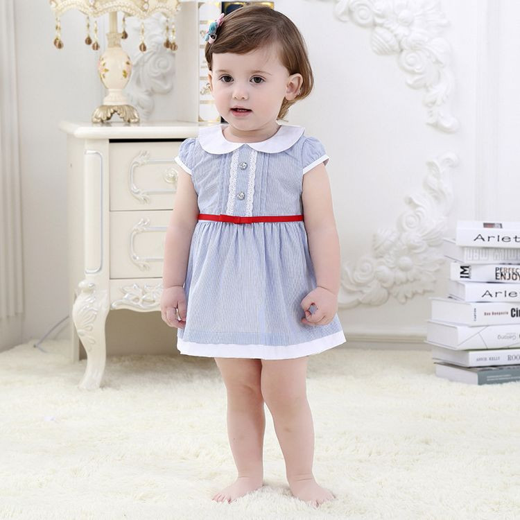 137d670173e9f Baby Girl Dress Summer 2016 baby Brand Dress Kid Clothes Vestidos Children  Dress Princess Party Dresses for Girls 1 3 years-in Dresses from Mother &  ...