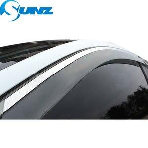 Image 2 - Osłona okienna do mercedesa E200L/E300L/E260L 2012 2016 osłony przeciwdeszczowe osłony przeciwdeszczowe do mercedesa E200L E300L E260L 2012 2016 SUNZ