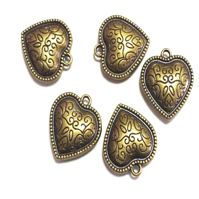 Bronze Antique Brass Tone Base Metal Charms-Feet 20x16mm Jewelry Findings Jewelry Accessories Nickel Free!!