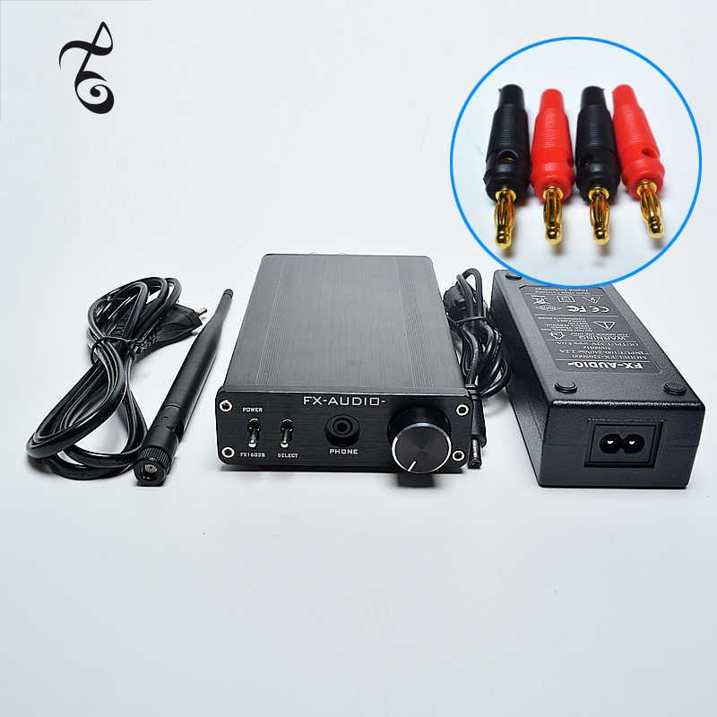 FX-AUDIO FX1602S TDA7498E высокой мощности Цифровой усилитель BC-05 Bluetooth приемник с Bluetooth TPA6120 усилитель 160 Вт * 2